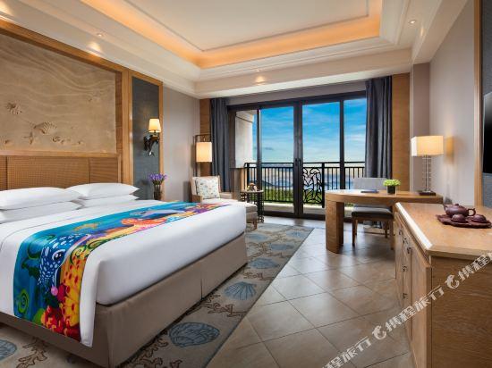 長隆橫琴灣酒店(珠海海洋王國店)(Chimelong Hengqin Bay Hotel (Zhuhai Dolphin Flagship Store))行政園景客房