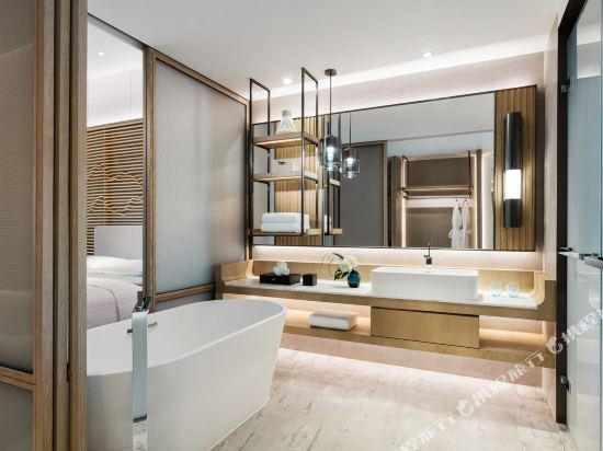深圳佳兆業萬豪酒店(Shenzhen Marriott Hotel Golden Bay)豪華海景大床房