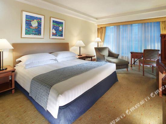 香港九龍海逸君綽酒店(Harbour Grand Kowloon)貴賓樓層園景客房