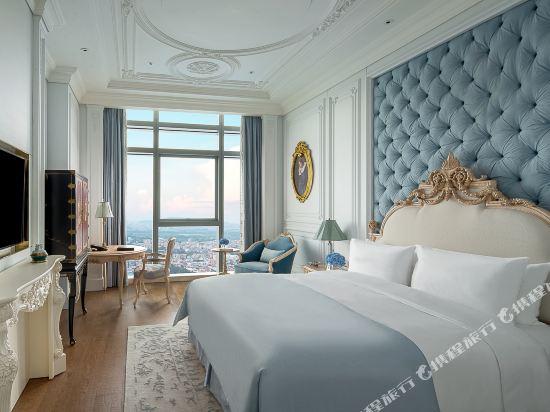 佛山羅浮宮索菲特酒店(Sofitel Foshan)索菲特俱樂部奢華房法式風格