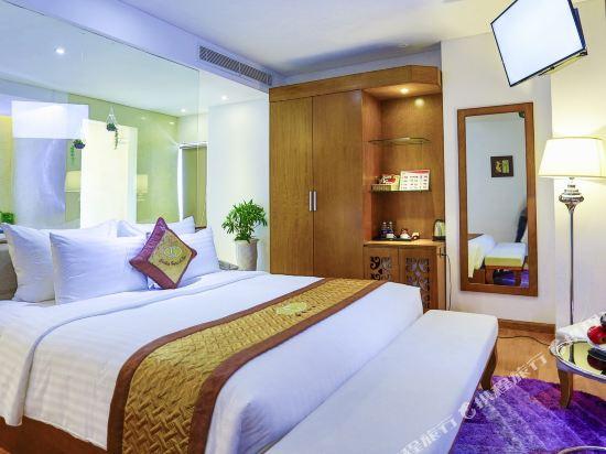 峴港西西里亞水療酒店(Cicilia Hotel & Spa Da Nang)海洋Spa一室公寓