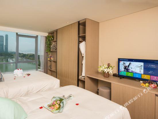 杭州印泰晤士·庭悅酒店(Thames Tingyue Hotel)江景雙床房