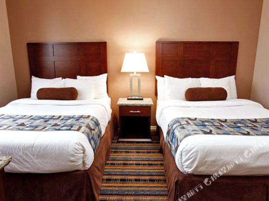 華美達温德姆華市中心酒店(Ramada Vancouver Downtown)雙床房