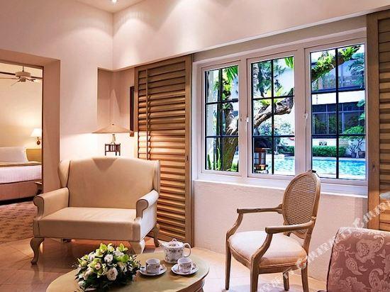 良木園酒店(Goodwood Park Hotel)豪華池畔套房