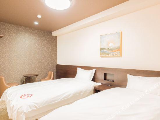 花築·京都櫻花乃宿酒店(京都站店)(Floral Sakura Hotel Kyoto(Kyoto Station))標準雙床房