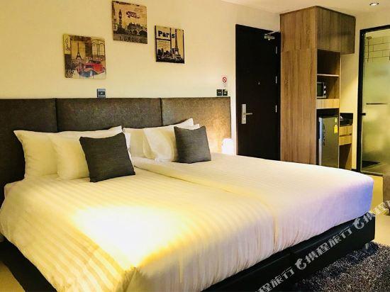 芭堤雅T酒店(T Pattaya Hotel)豪華房