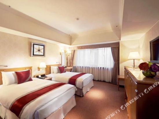 台北天成大飯店(Cosmos Hotel Taipei)精緻雙床房
