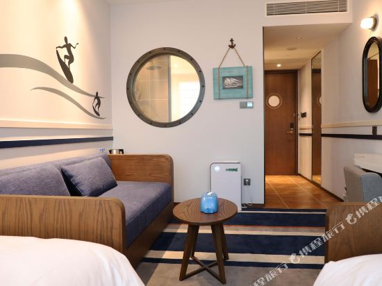 常州環球港郵輪酒店(Global Harbor Cruise Hotel)水手雙床房