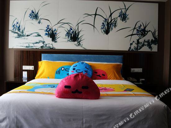 昆明花之城豪生國際大酒店(蘭花苑)(Howard Johnson Flower City Hotel Kunming (Lanhua Yuan))親子大床房
