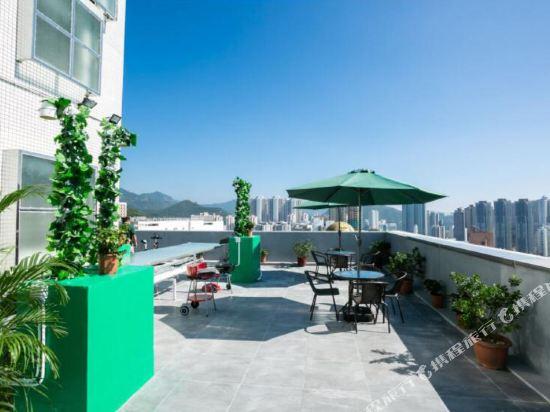 香港瑞思酒店(HONG KONG REESE HOTEL)院子