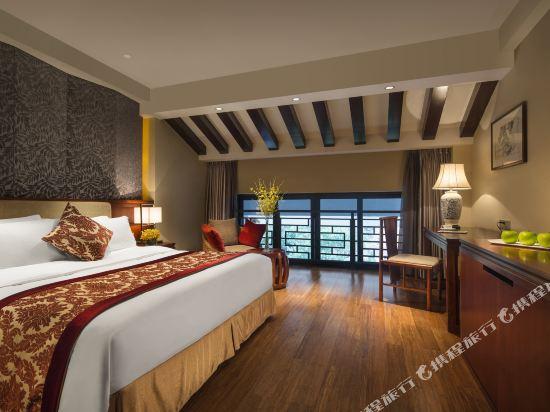 溧陽天目湖御水温泉度假酒店(Yu Shui Hot Spring Hotel)園景雙床房