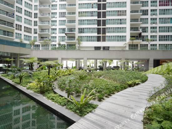 吉隆坡1057瑞嘉利亞套房温馨OYO公寓