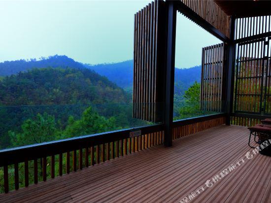 溧陽美岕山野温泉度假村(Meijie Mountain Hotspring Resort)眺望遠景
