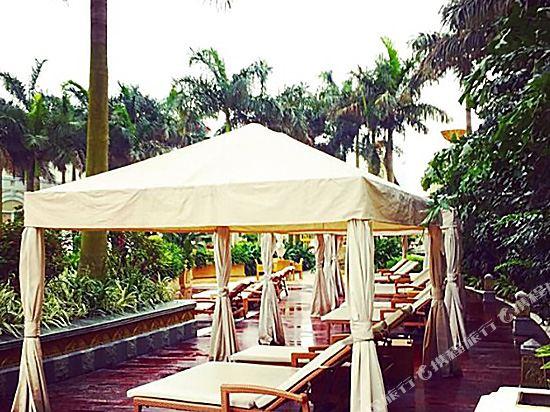 澳門悅榕莊(Banyan Tree Macau)室外游泳池