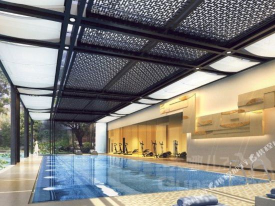 廣東迎賓館(Yingbin Hotel)室內游泳池