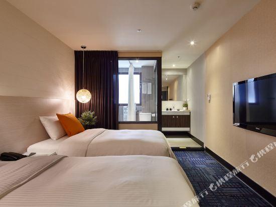 豐居旅店(台北西門館)(Via Hotel)活躍居淋浴雙人房