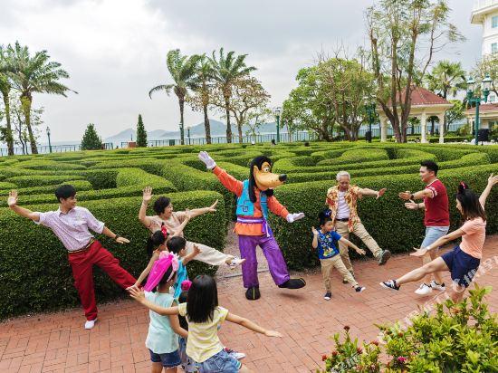 香港迪士尼樂園酒店(Hong Kong Disneyland Hotel)公共區域