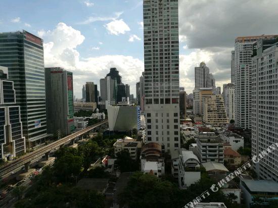曼谷W酒店(W Bangkok Hotel)眺望遠景