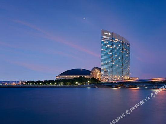 福岡海鷹希爾頓酒店(Hilton Fukuoka Sea Hawk)外觀