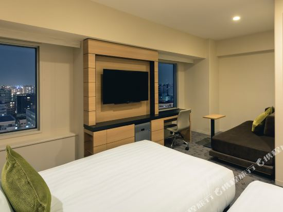 札幌ANA皇冠假日酒店(ANA CROWNE PLAZA SAPPORO)舒適尊貴雙床房