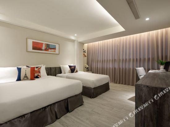 台中愛戀旅店(Amour Hotel)高級三人房