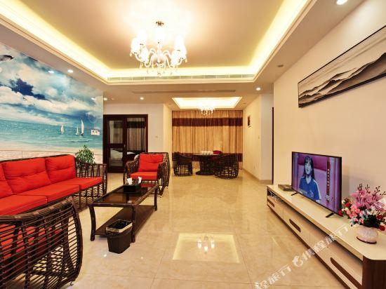 泰萊尚寓度假公寓(珠海海洋王國口岸店)(Tailai Shangyu Holiday Apartment (Zhuhai Ocean Kingdom Port))風情四房兩廳