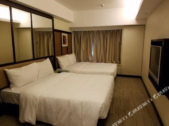 香港帝景酒店(Royal View Hotel)家庭房