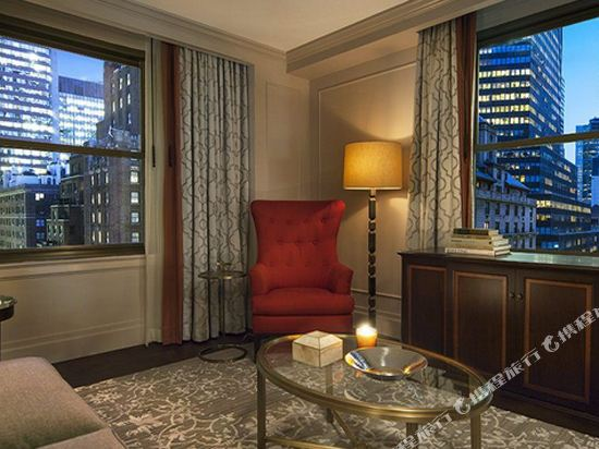 紐約巴克萊洲際大酒店(InterContinental New York Barclay Hotel)一卧室行政套房