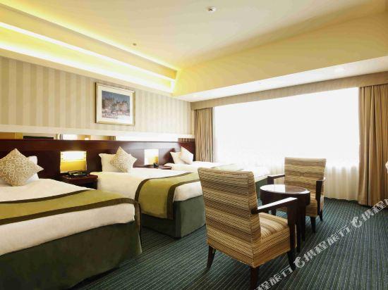 京阪環球塔酒店(Hotel Keihan Universal Tower)高級三人房