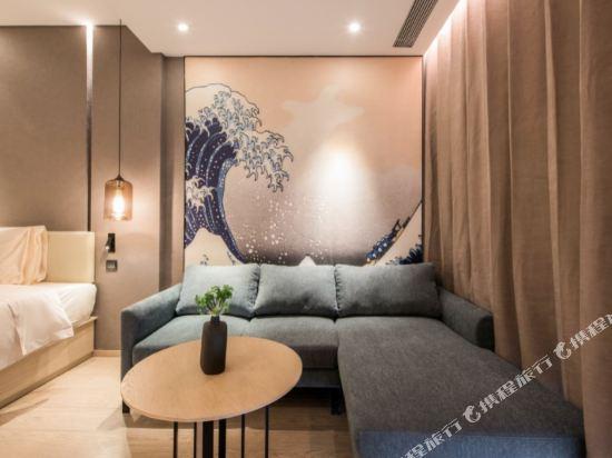 北京東直門亞朵S酒店(Atour S Hotel (Beijing Dongzhimen))得到幾木雙床房