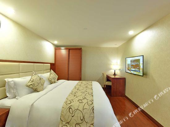 薩維爾金爵·鹿安酒店(上海國際旅遊度假區浦東機場店)(Savile Knight Lu'an Hotel (Shanghai International Tourism and Resorts Zone Pudong Airport))豪華家庭複式套房