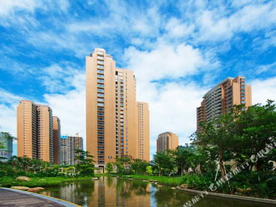 泰萊尚寓度假公寓(珠海海洋王國口岸店)(Tailai Shangyu Holiday Apartment (Zhuhai Ocean Kingdom Port))外觀