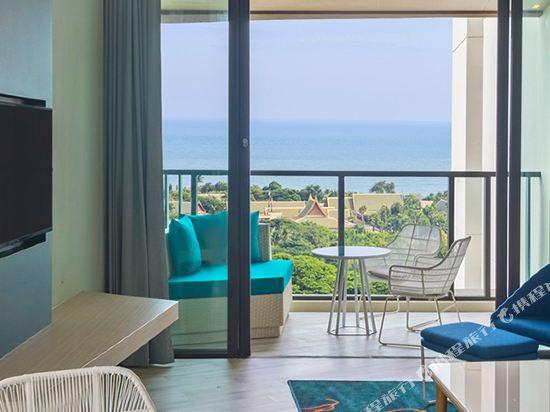 華欣瓦納納瓦假日酒店&度假村(Holiday Inn Resort Vana Nava Hua Hin)海洋特大床套房