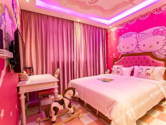 鮮住精品主題酒店(廣州野生動物園店)(原大石地鐵站店)(Xianzhu Boutique Theme Hotel (Guangzhou Wildlife Zoo))HelloKitty度假大床房