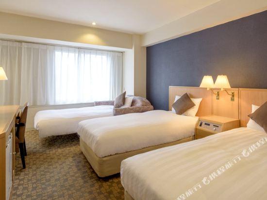 札幌ANA皇冠假日酒店(ANA CROWNE PLAZA SAPPORO)標準三人房