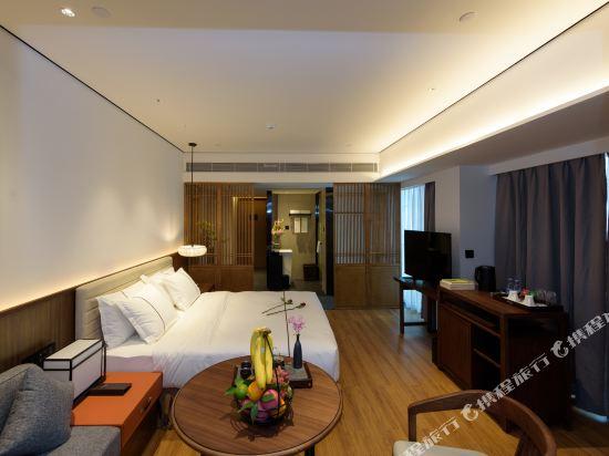 佛山順德美的總部華軒裏酒店(H'ELite Hotel)豪華景觀房