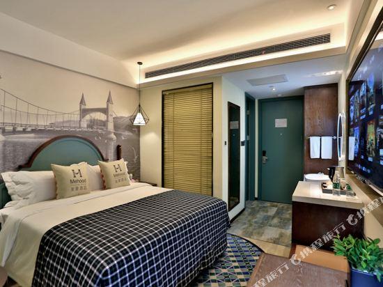 美豪酒店(常州恐龍園旗艦店)(Mehood Hotel (Changzhou Dinosaur Park Flagship))精緻大床房
