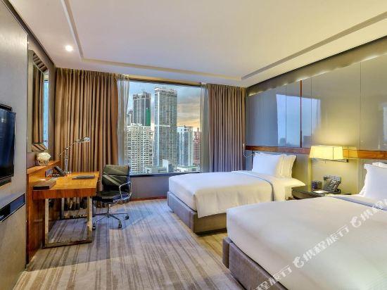 曼谷素坤逸希爾頓酒店(Hilton Sukhumvit Bangkok)豪華甄選房