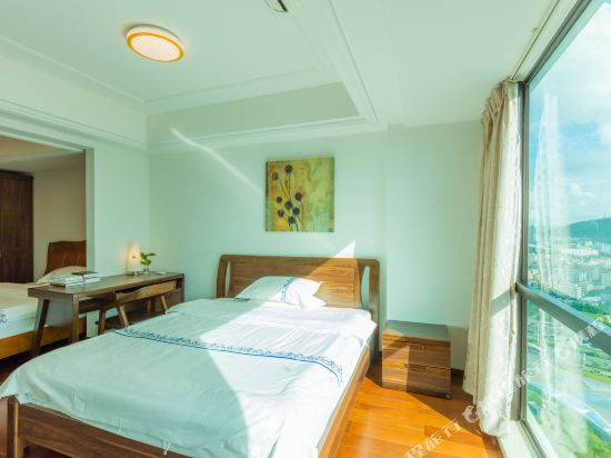 富米國際公寓(珠海華髮商都店)(Fumi Apartment Hotel (Zhuhai Huafa Mall))奢華複式雙床套房