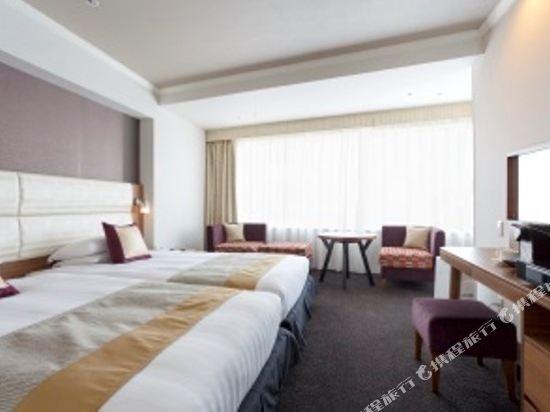 東京東急澀谷卓越大飯店(Shibuya Excel Hotel Tokyu Tokyo)Gran Chic標準雙床房
