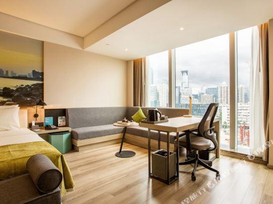 深圳濱河時代亞朵S酒店(Atour S Hotel)高級大床房