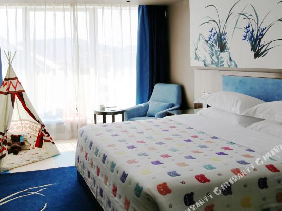 昆明花之城豪生國際大酒店(蘭花苑)(Howard Johnson Flower City Hotel Kunming (Lanhua Yuan))親子房A