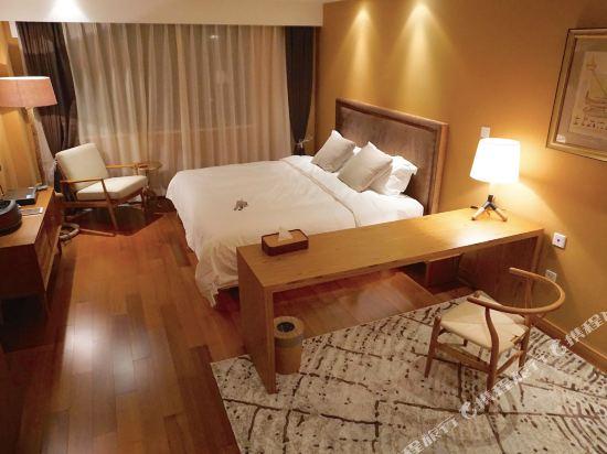 XY酒店公寓(北京金茂府店)(XY Apartment Hotel (Beijing Jinmaofu))智能藝術大床房