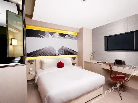 晉逸海景精品酒店上環(Butterfly on Waterfront Boutique Hotel Sheung Wan)豪華客房
