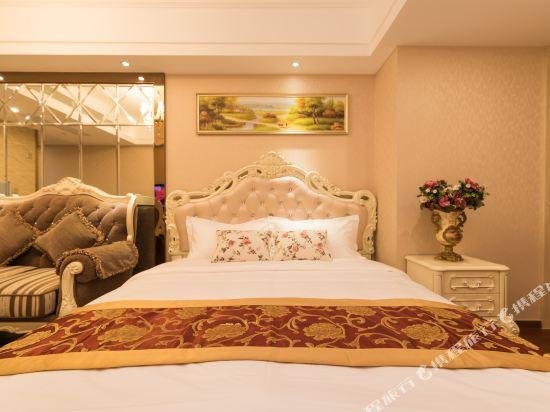 美豪酒店(深圳羅湖大劇院萬象城店)(Mehood Theater Hotel (Shenzhen Luohu Grand Theater The MIXC))歐式主題房