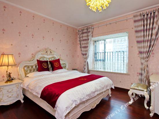 泰萊尚寓度假公寓(珠海海洋王國口岸店)(Tailai Shangyu Holiday Apartment (Zhuhai Ocean Kingdom Port))奢華歐式四房套房