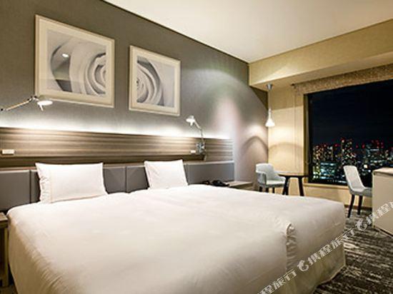 東京汐留皇家花園酒店(The Royal Park Hotel Tokyo Shiodome)標準好萊塢雙床房-ILYA設計(概念樓層)