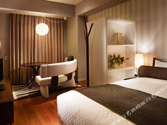 東京汐留皇家花園酒店(The Royal Park Hotel Tokyo Shiodome)標準雙人床房-二次住宿-IDC OTSUKA設計(概念樓層)