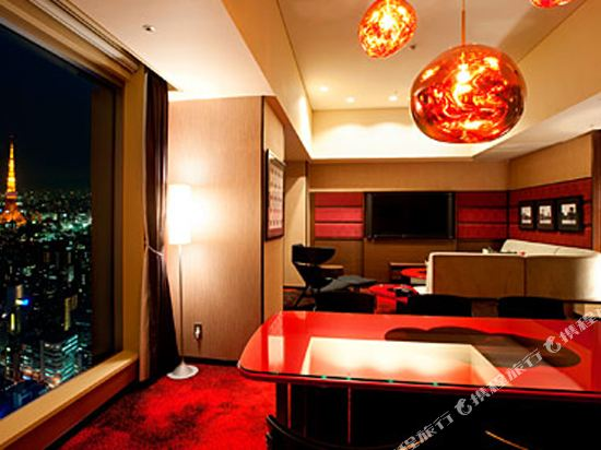 東京汐留皇家花園酒店(The Royal Park Hotel Tokyo Shiodome)高級特大床套房(高級樓層)