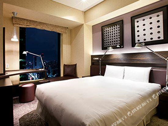 東京汐留皇家花園酒店(The Royal Park Hotel Tokyo Shiodome)經濟雙人床房-ILYA設計(概念樓層)